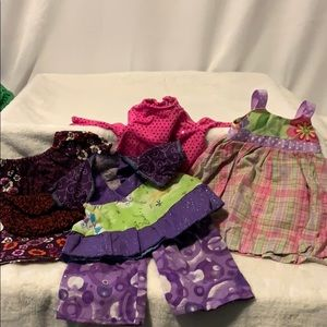 American Girl lot of clothing